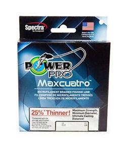 Power Pro MaxCuatro Spectra HT Braided Fishing Line 50lb 500yd White