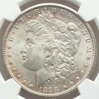 NEAR GEM QUALITY 1898-O Morgan Silver Dollar PCGS Certified MS64