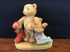1992 Cherished Teddies Jacob Wishing for Love Figurine #950734 Letter to Santa