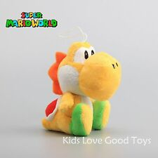 New Super Mario Bros. YOSHI Yellow Plush Doll Soft Stuffed Figure Toy 6'' Gift