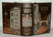 Charles Dickens, Five Novels In One,  A Christmas Carol, Barnes & Noble 2010 HB
