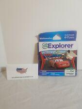 LeapFrog LeapPad Disney Pixar Cars Math Learning Game Sealed worn package