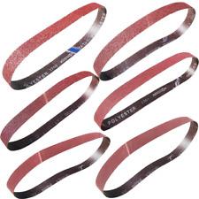 Sackorange 18 Pcs 1 inch x 42 inch Abrasive Sanding Belts - 3 Each of 60 80 120