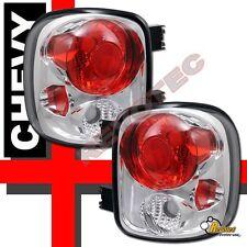 99-04 Chevy Silverado GMC Sierra Stepside Chrome Tail Lights