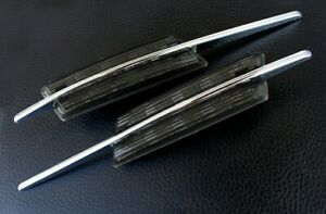 BMW M LED Black Side Marker Lights Turn Signals E82 E88 E60 E61 E90 E91 E92 E93