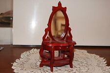 Vintage.Wooden.Fancy Mirrored Vanity.Doll Furniture