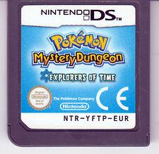 Pokémon donjon mystère: les explorateurs du temps - Nintendo DS