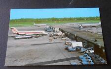 Vintage  Postcard Cleveland Hopkins International Airport