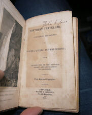 The Northern Traveller Through Quebec Niagara New York 1825 w 15 Maps