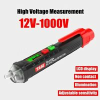 12V~1000V AC/DC Volt Alert Non-Contact Detector Electric Tester Pen Sensor LCD