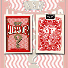 Ask Alexander Playing Cards - Limited Edition by Conjuring Arts + Murphy's Magic