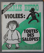 ►CHARLIE HEBDO N°392  - MAI 1978 - WOLINSKI