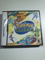 CASE + BOOKLET ONLY -  Pokemon Ranger Nintendo DS REPLACEMENT