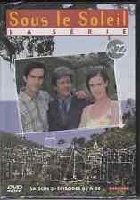 DVD ZONE 2 SERIE *SOUS LE SOLEIL* SAISON 3 DVD N° 22 EPISODES 85 A 88