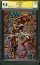 Youngblood 1 CGC SS 9.8 Rob Liefeld Variant Cover Chad Bowers Auto new Movie