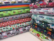 LATEST Children's Jersey Printed Soft Cotton Stretch Knit Dress Fabric OEKO-TEX