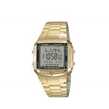 Orologio CASIO ref. DB-360-1ADF mod. DATABANK Multifunzione fuso orario dorato