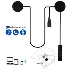 New listing Motorcycle Helmet Headset Speaker Mic Bluetooth 5.0 Handsfree Music Call Control