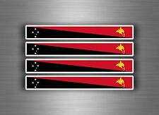 4x sticker decal car stripe motorcycle racing flag moto tuning papua new guinea