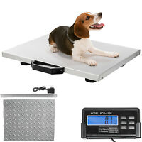 "Livestock Vet Scale Dog Scales 400lbs 20.5x16.5"" Animal Scale For Small Breed"