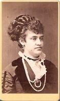 Wildner CDV photo Damenportrait - Brünn 1876