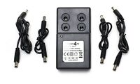 9V Guitar Pedal Power Supply Adapter Adaptor. 4 DC Cables. For Boss PSA-240 PSU~