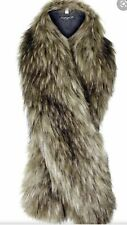 Faux Fur Shawl Or Collar Brown TopShop Brand New With Tags RRP £28 Free Postage