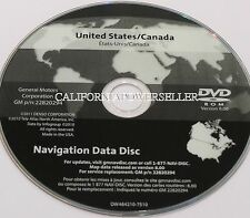 UPDATE FOR 2009 2010 2011 2012 CHEVROLET CORVETTE NAVIGATION GM PART # 22820294