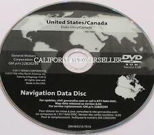 Chevrolet Corvette C6 Navigation Disc MAP DVD GM p/n 22820294 Version 8.0