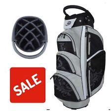 Orlimar Ensemble Ladies Golf Cart Bag 14 Way Divider Black/Silver New