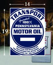 "1 19/"" X 19/"" FLEETWOOD AIRCRAFT OIL GAS VINYL DECAL LUBESTER OIL PUMP LUBSTER"