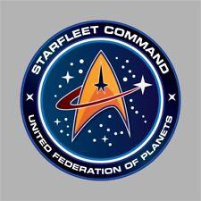 STAR TREK STAR FLEET COMMAND STICKER UNITED FEDERATION OF PLANETS