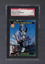 David Robinson San Antonio Spurs 1999 SI For Kids Signed Card SGC Authentic