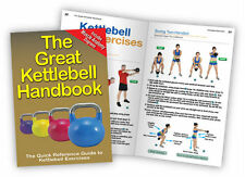Kettlebell Handbook- Book Workout Guide Crossfit Fitness Exercise Kb - The Great