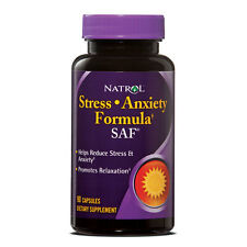 Natrol SAF Stress and Anxiety Formula 90 Capsules