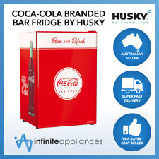118L Officially Licensed Coca-Cola Solid Door Undercounter Bar Fridge by Husky