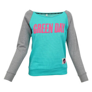 GREEN DAY MUSIC BAND WOMENS PULLOVER NEW  MSRP $59.00