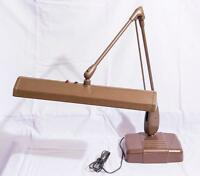 Vintage Dazor P-2324-16 Floating Fixture Drafting Table Lamp 1950's jds