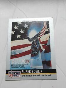 "1976 Steelers vs Cowboys 10.5"" x 14"" Matted Super Bowl X Program - Fanatics"