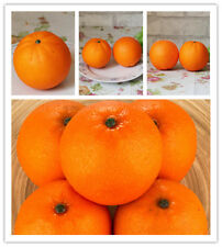 Artificial Fruit Emulation orange Wedding Party shoot props Home Decor,Box of 12