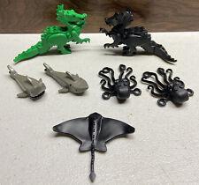 Lego Manta/Stingray 6441 6559 1792 Shark Octopus Diving Ocean Dragon Castle