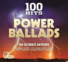 100 HITS - POWER BALLADS (NEW SEALED 5CD)