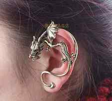 12pcs Hot Sale Punk gothic Dragon twist ear cuff earring for women cheap vintage