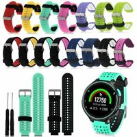 Replacement Wrist Band Strap Bracelet For Garmin Forerunner 220/230/235/620/630