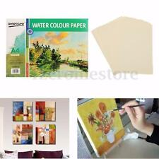 16pcs Watercolour Paper Water Colour Pad Atrist Painting Drawing Sketch Book A4
