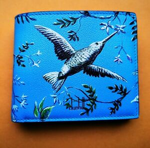 Dunhill Aquarium 4CC Coin Billfold Wallet Purse