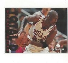 1995-96 FLEER BASKETBALL TOTAL D MICHAEL JORDAN #3 OF 12 - CHICAGO BULLS