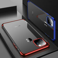 For iPhone 12 Pro Max 11 8 7 6s XS XR Shockproof Thin TPU Clear Soft Case Cover