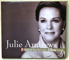 Julie Andrews Selects Her Favorite Walt Disney Songs CD NICE Chim Cheree Tramp