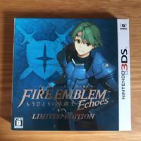Nintendo 3DS Fire Emblem Echoes LIMITED EDITION w/ Pouch Japan Ver.